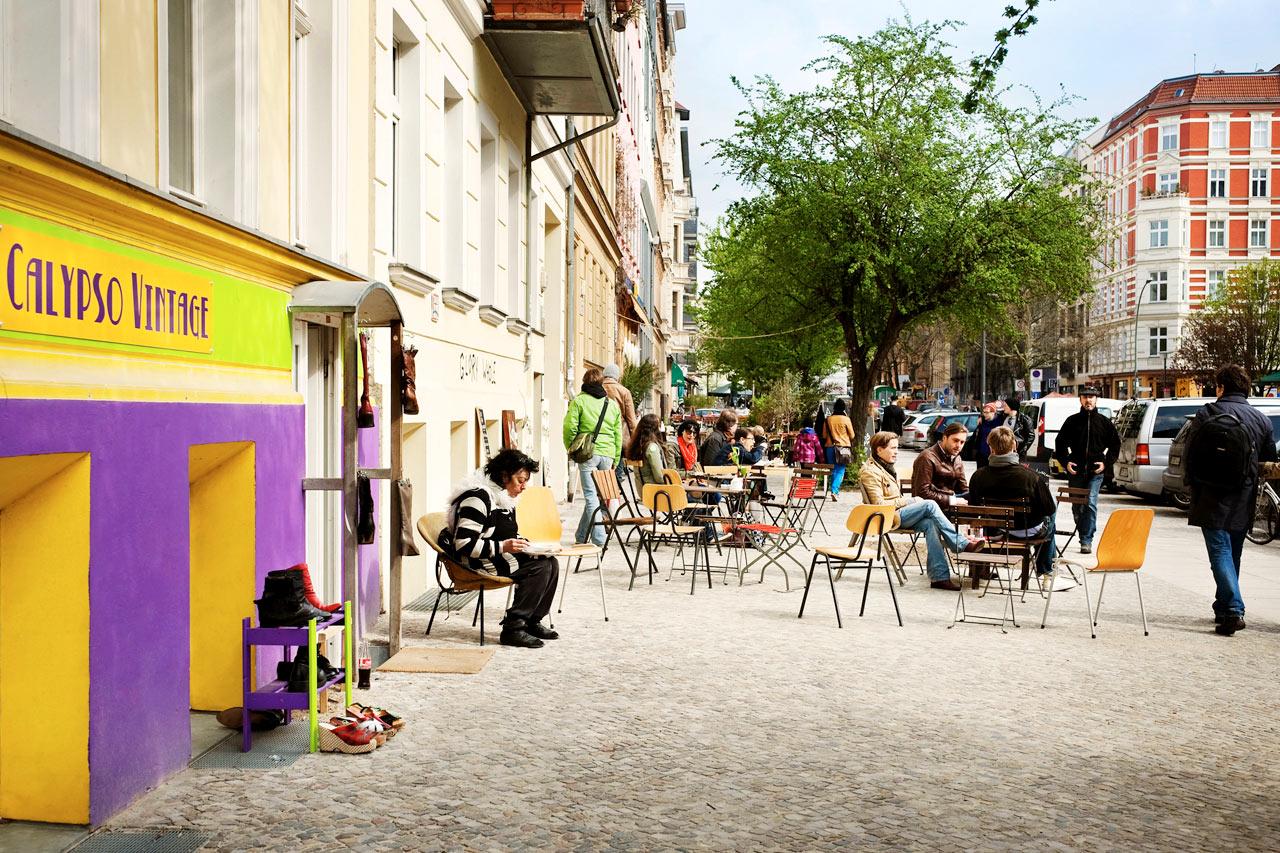 Møte mennesker fra berlin