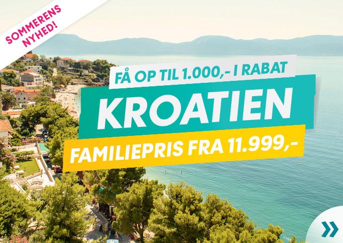 Sommerens nyhed: Kroatien!