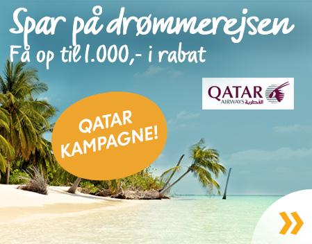 Kampagne med Qatar