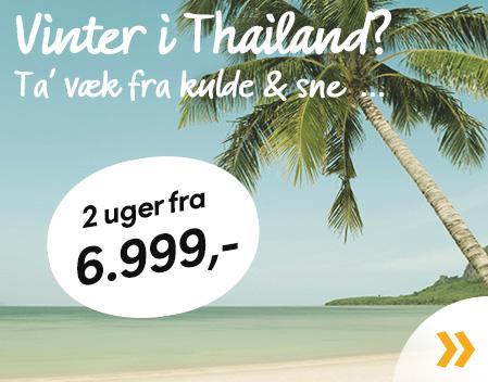 Vinterferie i Thailand