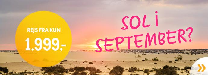Rejs i september!