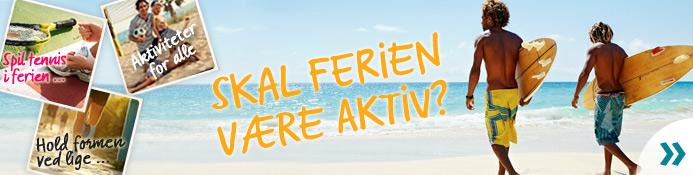 Aktiv sommerferie