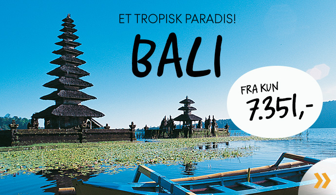Bali - et tropisk paradis