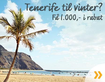 Spar på rejser til Tenerife