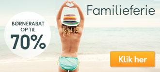Sommerferie for familien
