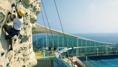 Aktiv ferie ombord på krydstogtskibet