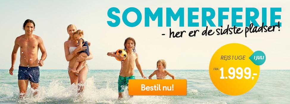 Sommerferie - de sidste pladser!