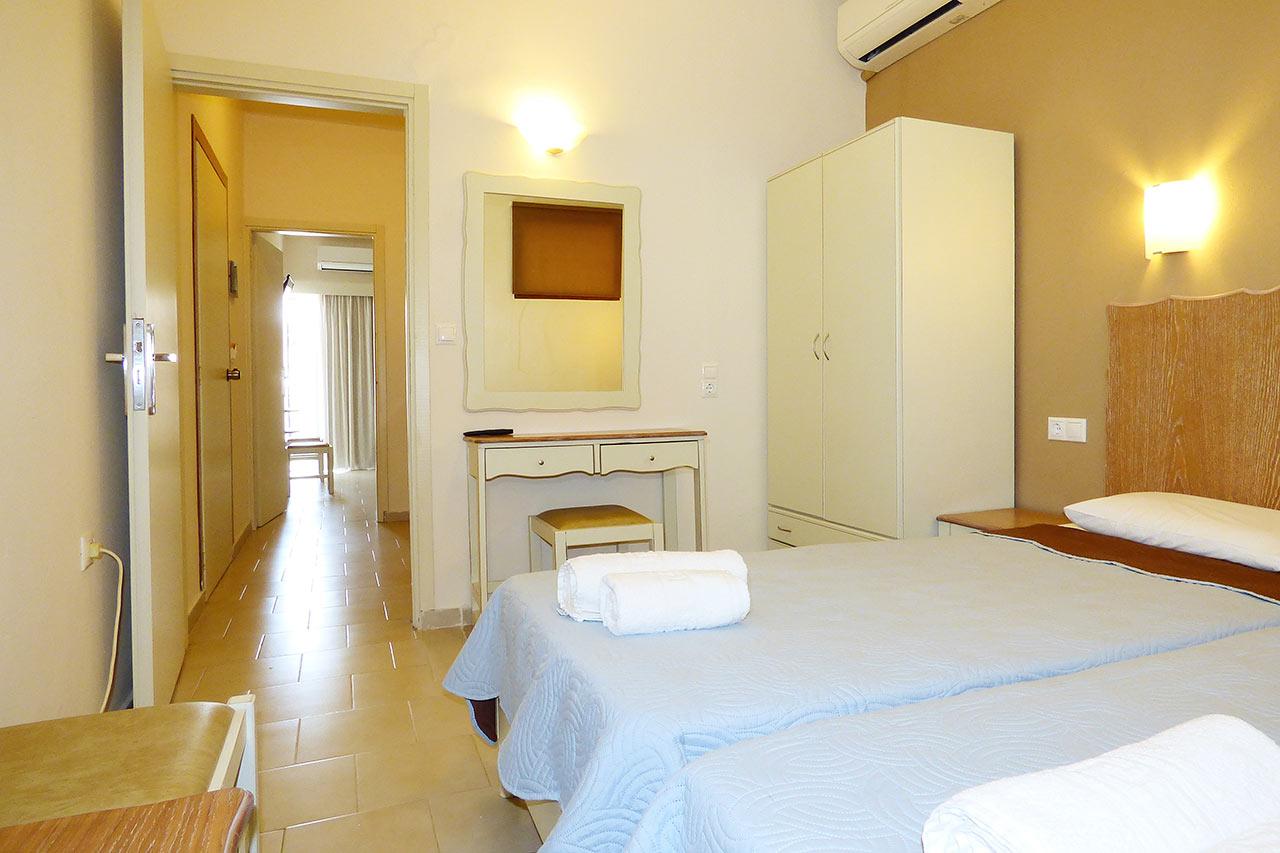 Soveværelse i 2-værelses lejlighed
