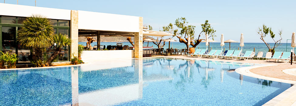 Iolida Beach, Agia Marina (Chaniakysten), Kreta, Grækenland
