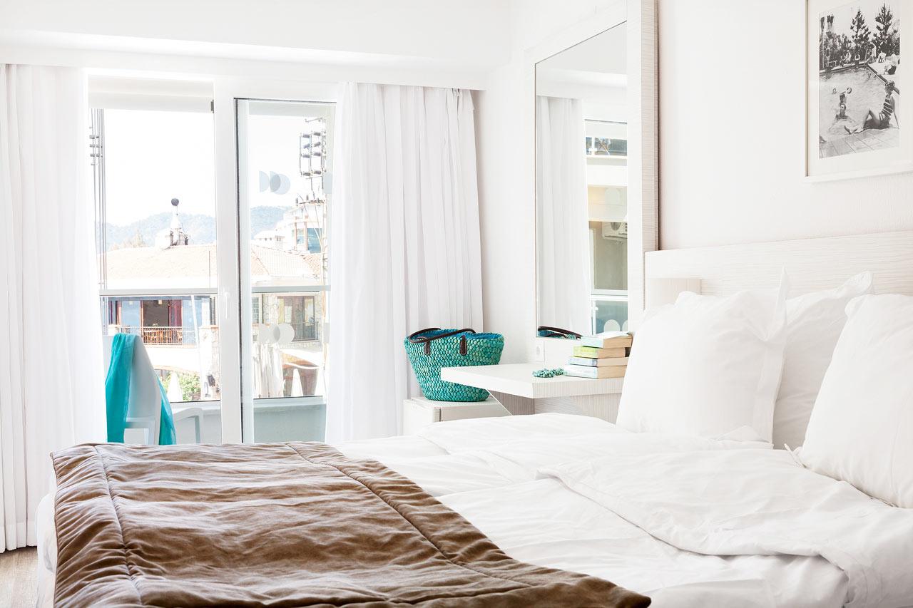 Sunprime Beachfront - Dobbeltværelser Prime Room er lyst og moderne indrettet