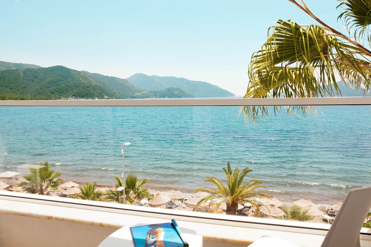 Sunprime Beachfront - Den smukke udsigt fra et Prime Room med havudsigt