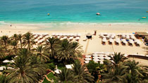 Spa og velvære på hotel Hilton Dubai Jumeirah Resort.