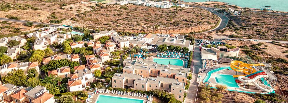 smartline Village Resort & Waterpark, Hersonissos, Kreta, Grækenland