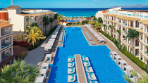 Børnevenlige hotel Zafiro Bahia.