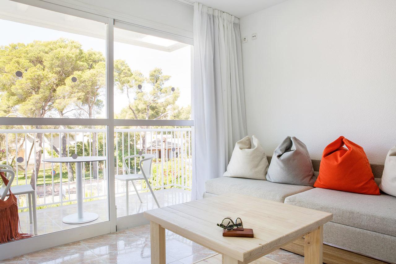 2-værelses Family-lejlighed med balkon mod omgivelserne i Magdalena