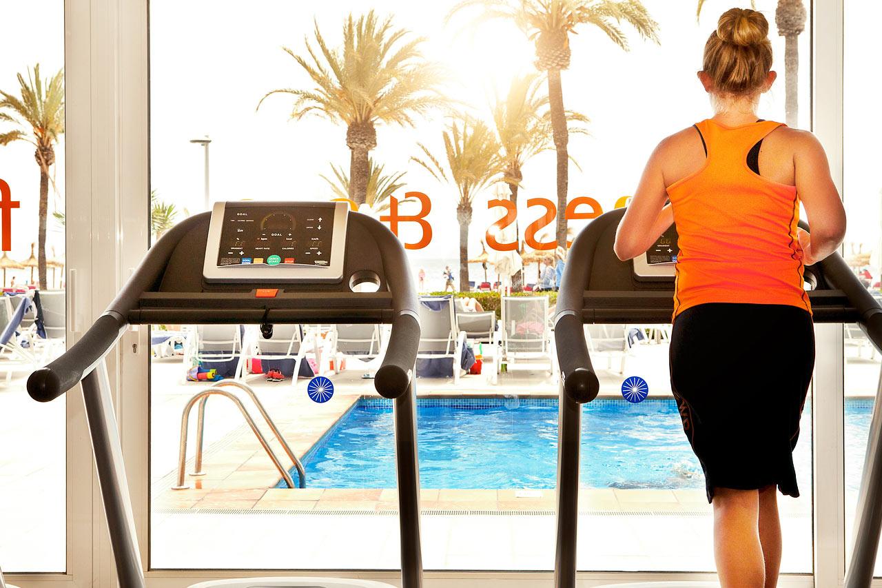 Sunwing Alcudia Beach har et motionsrum, så du kan træne på egen hånd