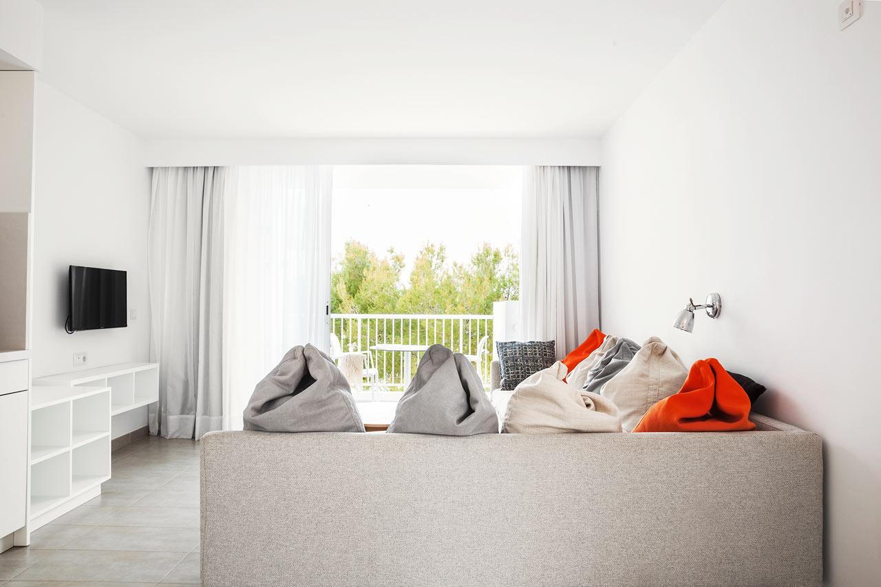 1-værelses Family-lejlighed med to balkoner mod omgivelserne i Victoria