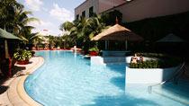 Spa og velvære på hotel Caravelle Hotel.