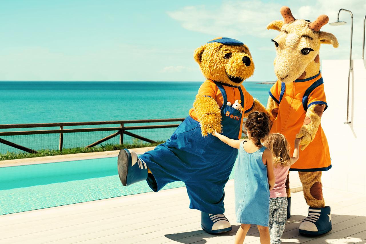 Lollo & Bernie er alle børns favoritlegekammerater i ferien