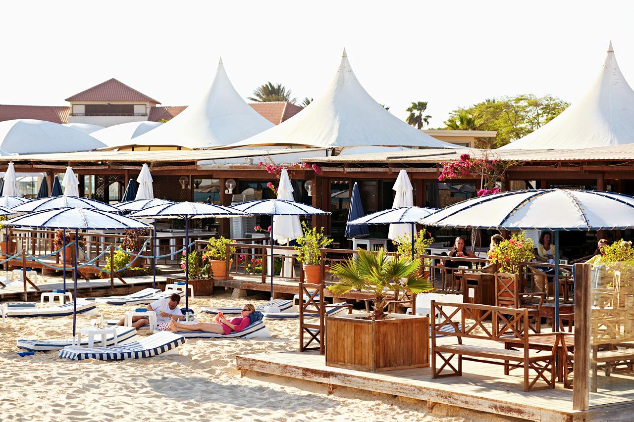 Santa Maria - Strandbaren på Hotel Morabeza