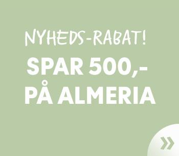 NYHED: Almeria!
