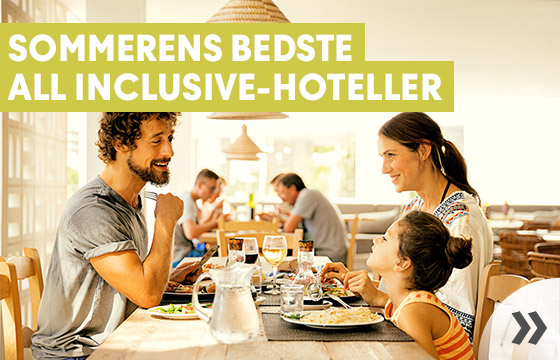 Familieferie med All Inclusive