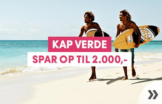Ugens vinterkup - spar op til 2.000,- på din rejse til Kap Verde
