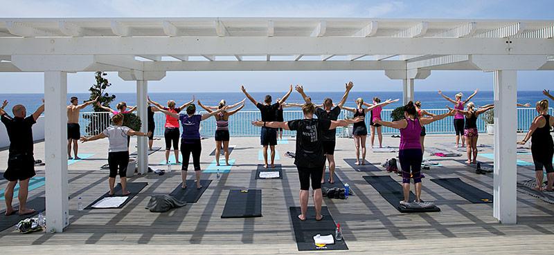Yogarejse med Karin Pallisgaard