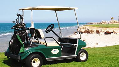 Spil golf i Egypten