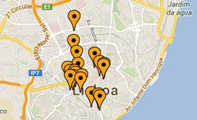 Spies har altid centrale hoteller i Lissabon