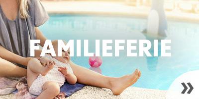 Familieferie som charterrejse