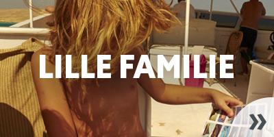Ferie for den lille familie som charterrejse