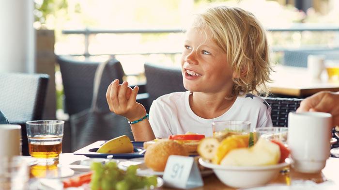 Børn spiser gratis