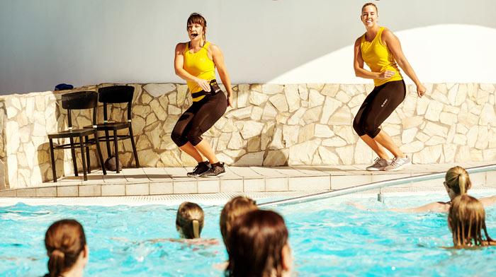 Aktiviteter ved poolen