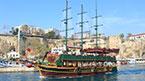 Sejltur på det blå hav fra Antalya